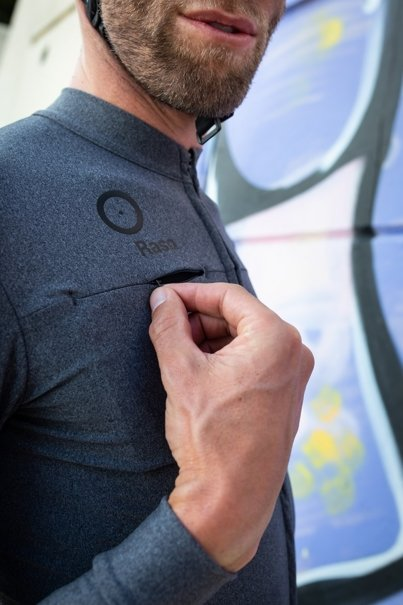 Melange Long Sleeve Jersey