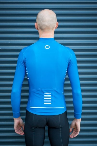Men's Stripes Long Sleeve Jersey I Aquazero