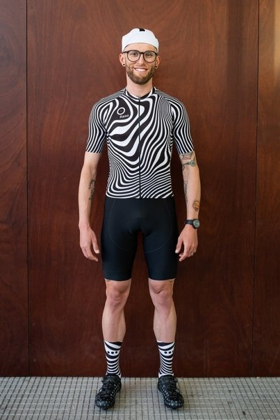 Men's Zebra Jersey (black)