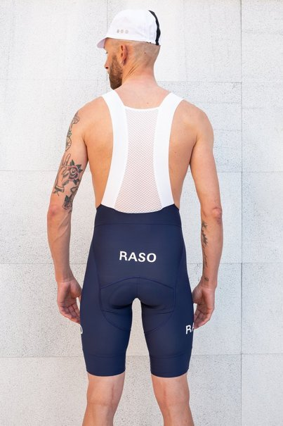 Navy Blue Bib Shorts
